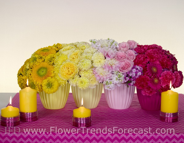 Flower Trends Forecast 2014 Confetti