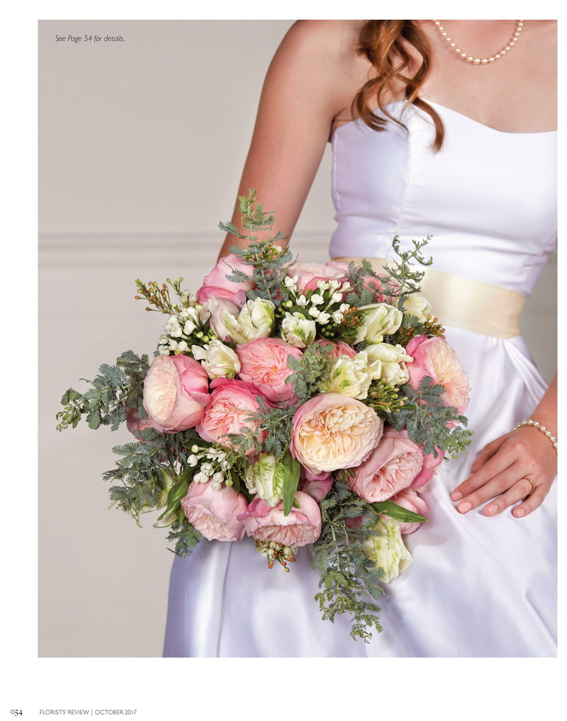 flower trends forecast - florist review wedding trends for 2018
