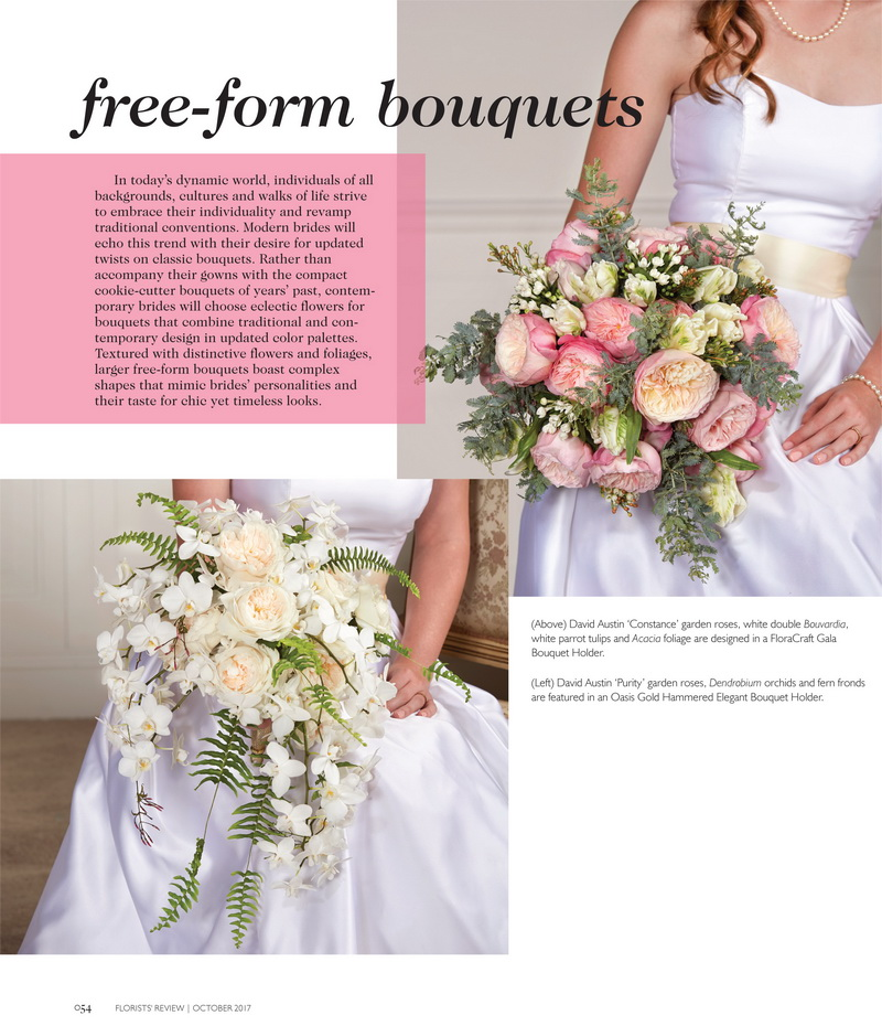 Florist Review Wedding Trends For