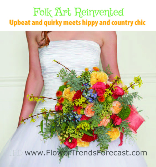 Folk Art Reinvented Wedding