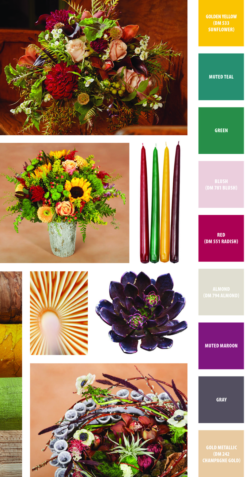 Flower Trends Forecast - Forest Walk - Floral Decor and