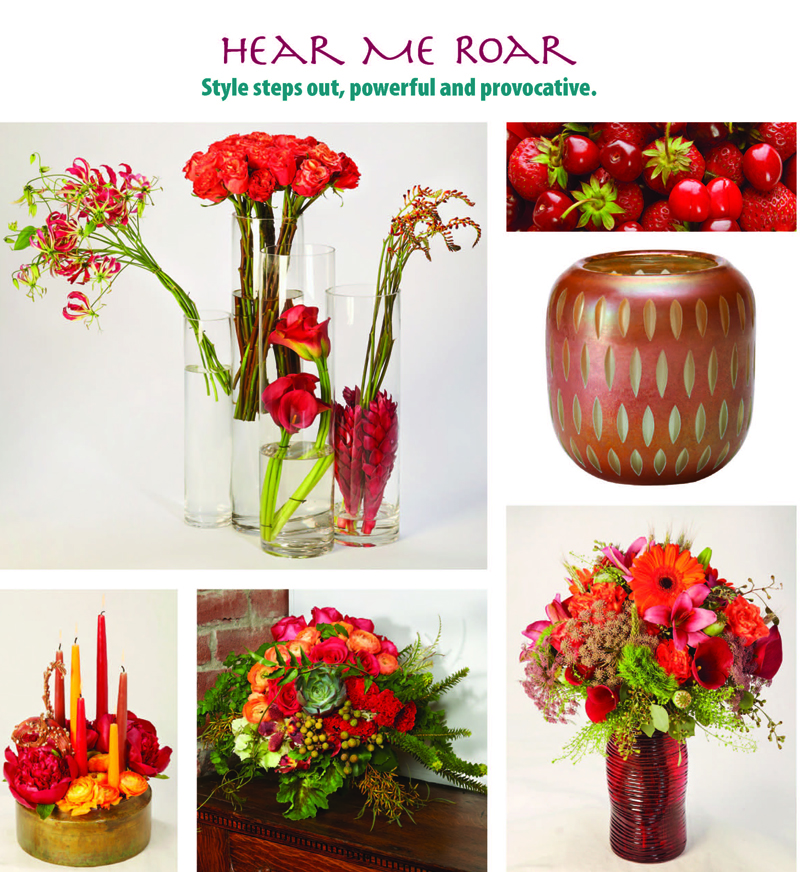 Flower Trends Forecast Hear Me Roar Floral Decor And