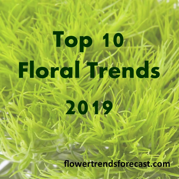 Top 10 Flower Trends 2019