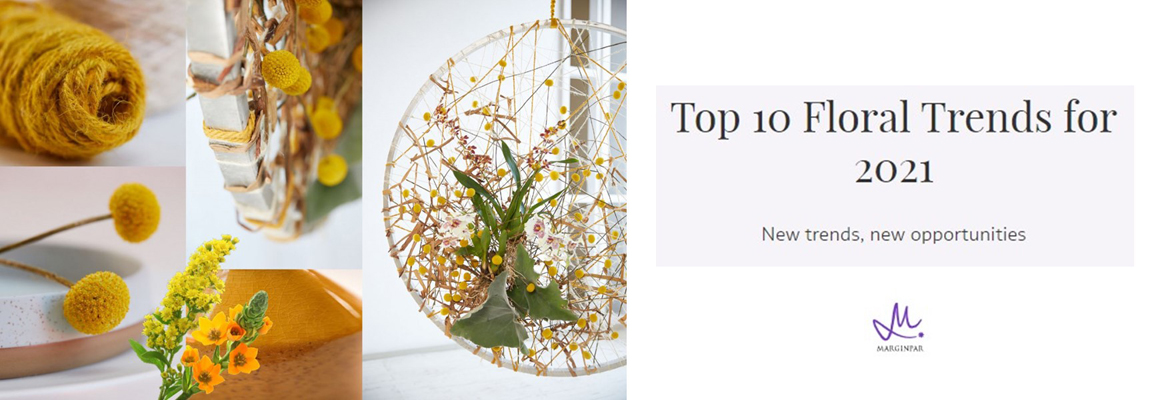 Marginpar - Top 10 Floral Trends for 2021
