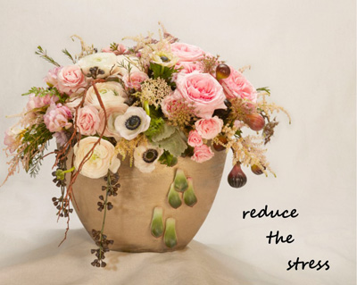 Flowers Help Us Stress Less