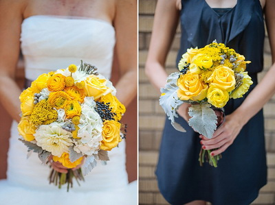 Cheery Yellow Wedding